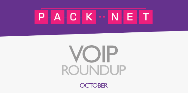 PackNet's Business VoIP Roundup for October 2013