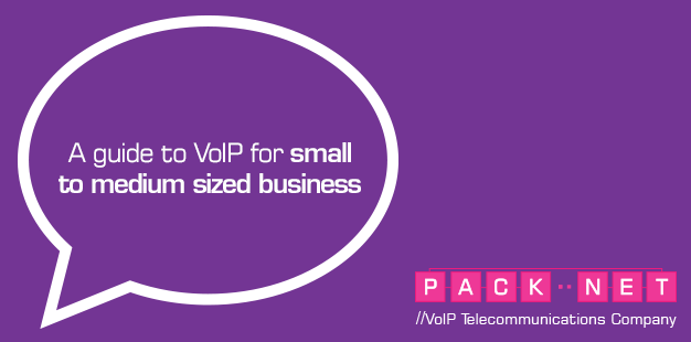 Download PackNet's guide to VoIP for small to medium sized businesses.