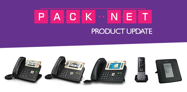 PackNet Product Update