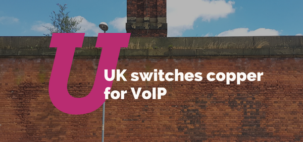 UK switches copper for VoIP