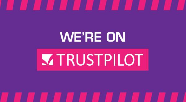 We're on Trustpilot